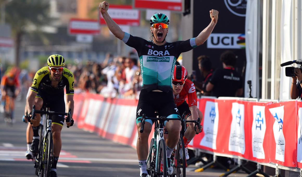 UAE Tour: Ackermann (Bora-Hansgrohe) golpea primero