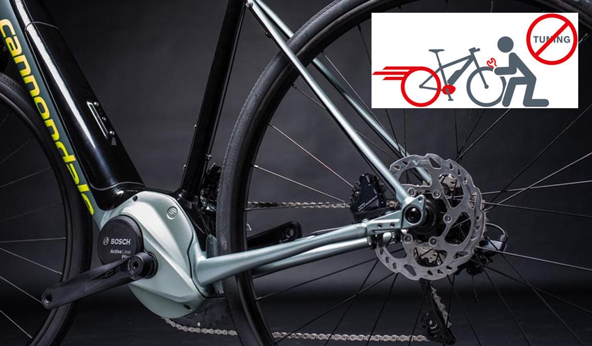 """Los peligros de """"tunear"""" una bici eléctrica"""