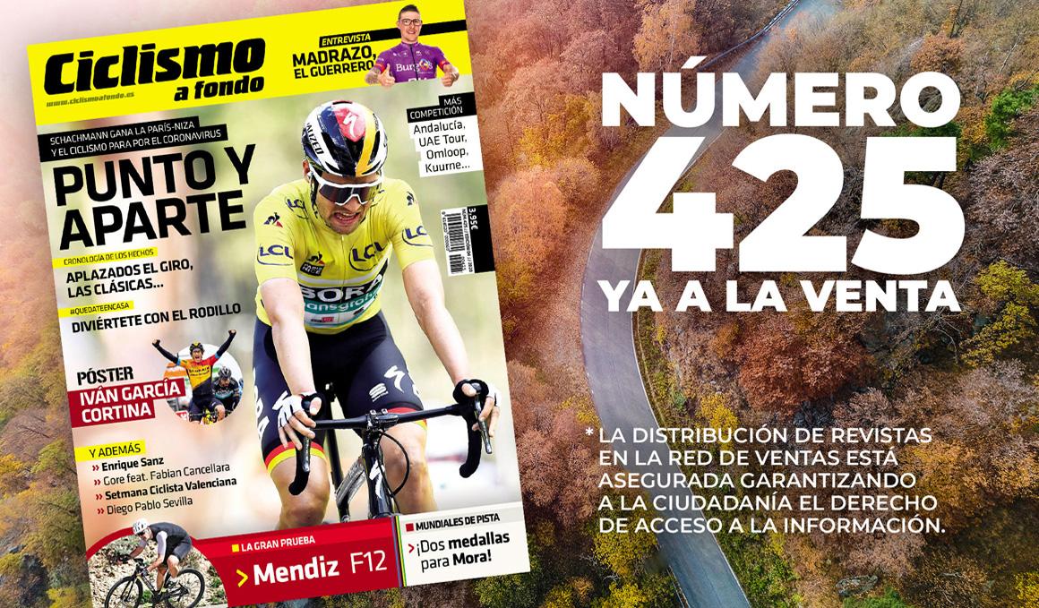 ¡Ciclismo a Fondo 425 ya a la venta!