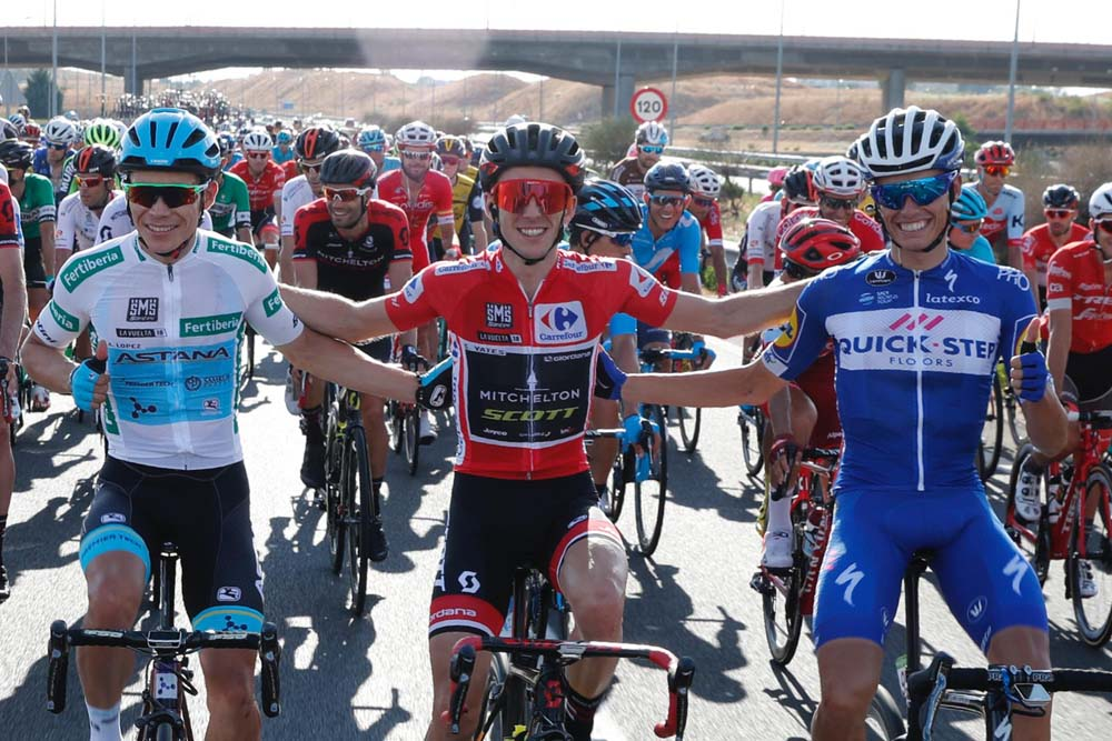 Las mejores imágenes del fin de fiesta de La Vuelta