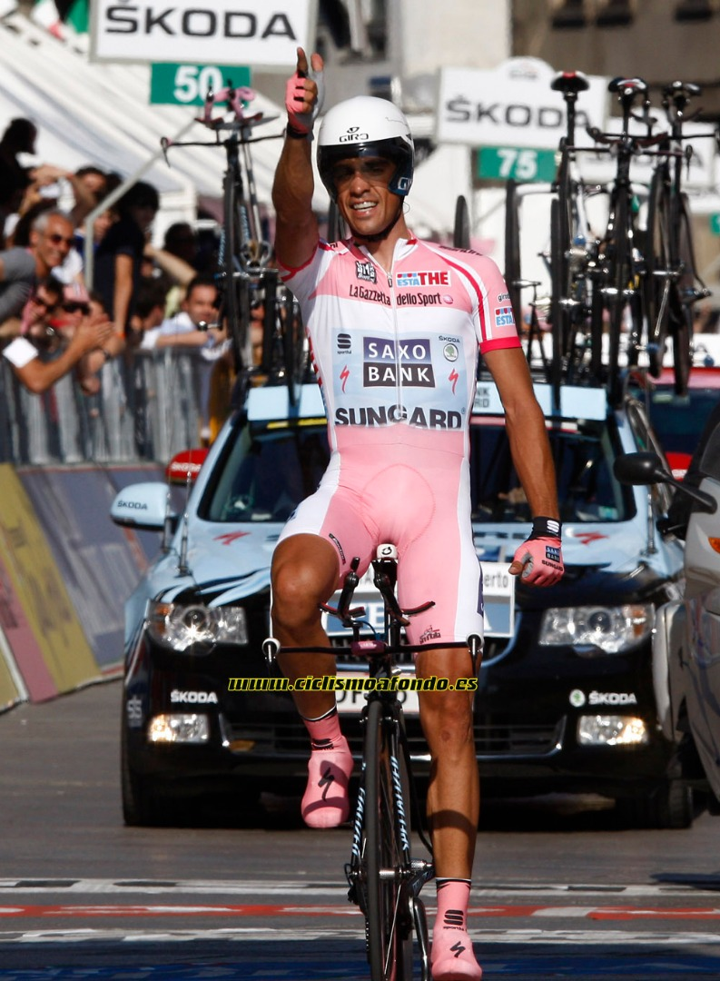 La trayectoria de Alberto Contador