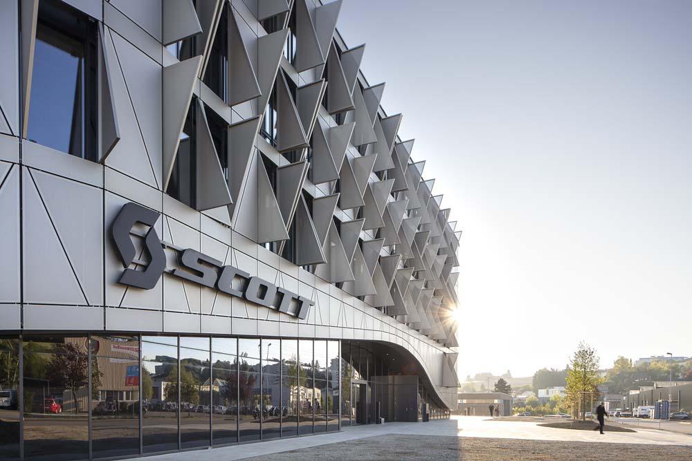 Así es la espectacular nueva sede de Scott