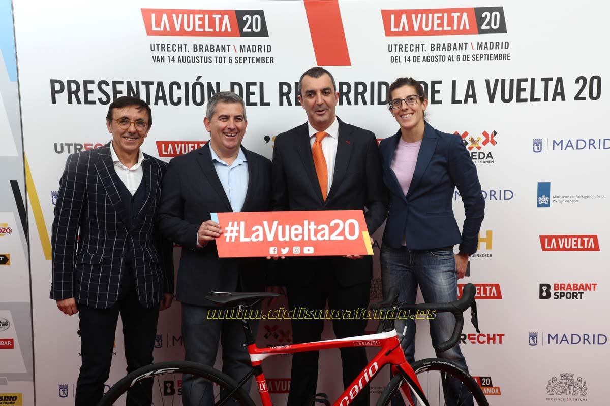 Las fotos de la presentación de La Vuelta 2020